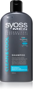 Syoss Men Clean & Cool Shampoo für normales bis fettiges Haar