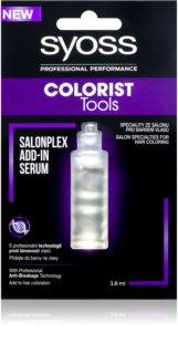 Syoss Colorist Tools kiegészítő szérum hajtörezedés ellen a hajfestés alatt