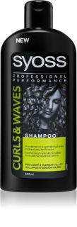 Syoss Curl Me Moisturizing Shampoo for Curly and Wavy Hair