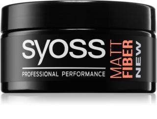 Syoss Matt Fiber cera para dar definición al peinado