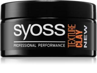 Syoss Texture formázó agyag extra erős fixálással