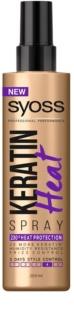 Syoss Keratin spray protecteur pour protéger les cheveux contre la chaleur