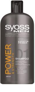 Syoss Men Power & Strength šampon pro posílení vlasů