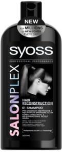 Syoss Salonplex shampoo per capelli trattati chimicamente e affaticati
