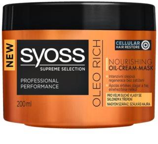 Syoss Supreme Selection Oleo Rich vyživující maska na vlasy