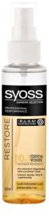 Syoss Supreme Selection Restore sérum para cabelo extremente danificado