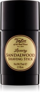 Taylor of Old Bond Street Sandalwood creme de barbear em stick