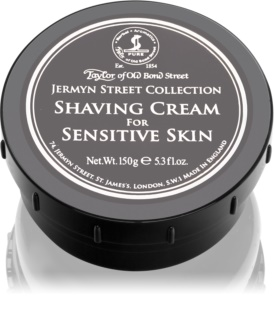 Taylor of Old Bond Street Jermyn Street Collection crème à raser peaux sensibles