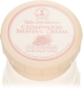 Taylor of Old Bond Street Cedarwood krém na holenie