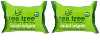 Tea Tree Facial Wipes čistilni robčki za obraz