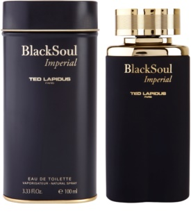 Ted Lapidus Black Soul Imperial Eau de Toilette para homens 100 ml