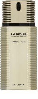 Ted Lapidus Gold Extreme Eau de Toilette für Herren 100 ml