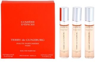 Terry de Gunzburg Lumiere d'Epices eau de parfum para mujer 3 x 8,5 ml (3x recambio con difusor)