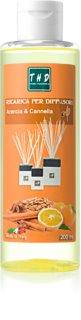 THD Ricarica Arancia & Cannella ricarica per diffusori di aromi 200 ml