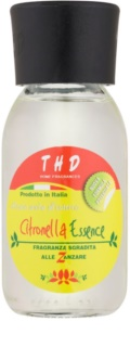 THD Home Fragrances Citronella Essence aroma difuzér s náplní 100 ml