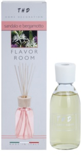 THD Diffusore THD Sandalo e Bergamotto aroma diffúzor töltelékkel 200 ml