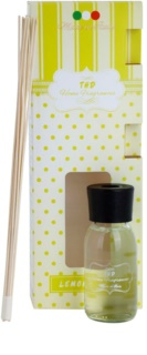 THD Home Fragrances Lemongrass aroma difusor com recarga 100 ml