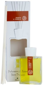 THD Platinum Collection Arancia & Cannella aroma difusor com recarga 200 ml