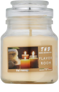 THD Candela Profumeta Thai Massage Scented Candle 140 g