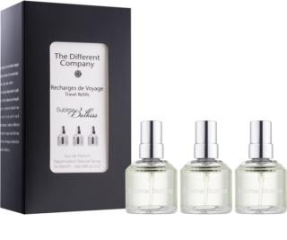 The Different Company Sublime Balkiss Eau de Parfum unisex 3 x 10 ml Dreifach-Nachfüllpackung mit Zerstäuber