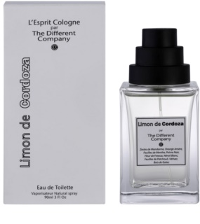 The Different Company Limon De Cordoza woda toaletowa unisex 90 ml