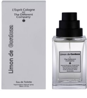 The Different Company Limon De Cordoza Eau de Toilette unissexo 90 ml