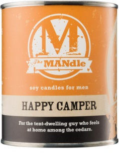 The MANdle Happy Camper vela perfumado 425 g