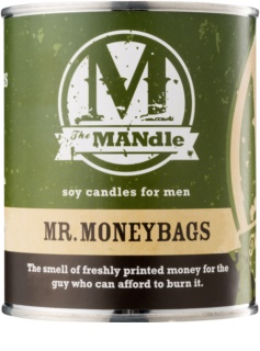 The MANdle Mr. Moneybags vela perfumado 425 g