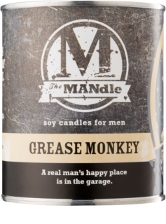 The MANdle Grease Monkey vela perfumado 425 g