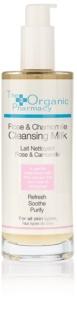 The Organic Pharmacy Skin почистващо мляко за чувствителна кожа на лицето