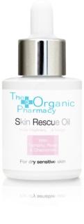 The Organic Pharmacy Skin óleo regenerador SOS  para pele seca a sensível