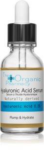 The Organic Pharmacy Plump & Hydrate vyplňující hyaluronové sérum s pipetou