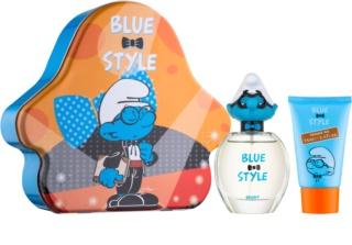 The Smurfs Blue Style Brainy dárková sada II.