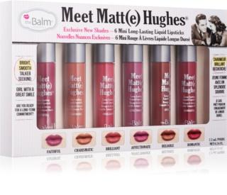 theBalm Meet Matt(e) Hughes kozmetika szett II.