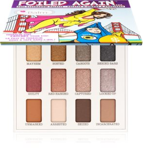 theBalm Foiled Again... παλέτα με σκιές ματιών