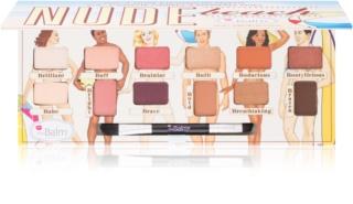 theBalm Nude Beach paleta očných tieňov