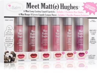 theBalm Meet Matt(e) Hughes coffret cosmétique III.