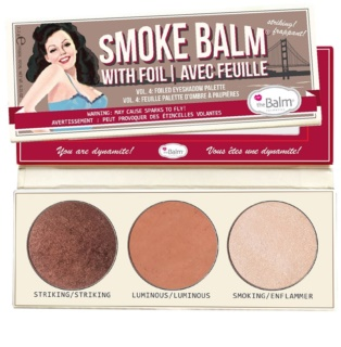 theBalm Smoke Balm with Foil Oogschaduw Palette
