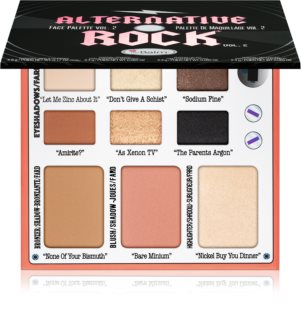 theBalm Alternative Rock Volume 2 multifunkcionalna paleta