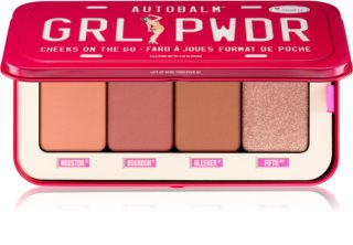 theBalm Autobalm Grl Pwdr παλέτα με ρουζ