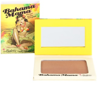 theBalm Bahama Mama Bronzer, Oogschaduw en Contourpoeder Alles in één