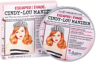 theBalm Cindy - Lou Manizer iluminador, sombra e delineador em um