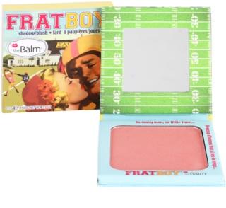 theBalm FratBoy blush e sombras em um