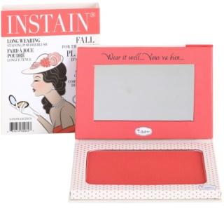 theBalm Instain pudrasto rdečilo za dolgoobstojen učinek