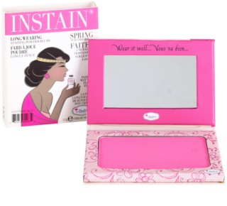 theBalm Instain Powder Blush with Long-Lasting Effect