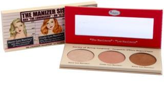 theBalm theManizer Sisters paleta highlightera
