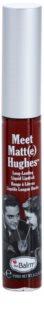 theBalm Meet Matt(e) Hughes dlhotrvajúci tekutý rúž