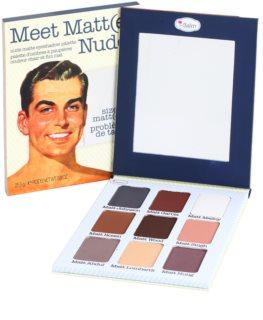theBalm Meet Matt(e) Nude szemhéjfesték paletták