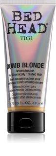 TIGI Bed Head Dumb Blonde balzam za kemično obdelane lase