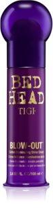 TIGI Bed Head Blow-Out zlatna svjetlucava krema za zaglađivanje kose